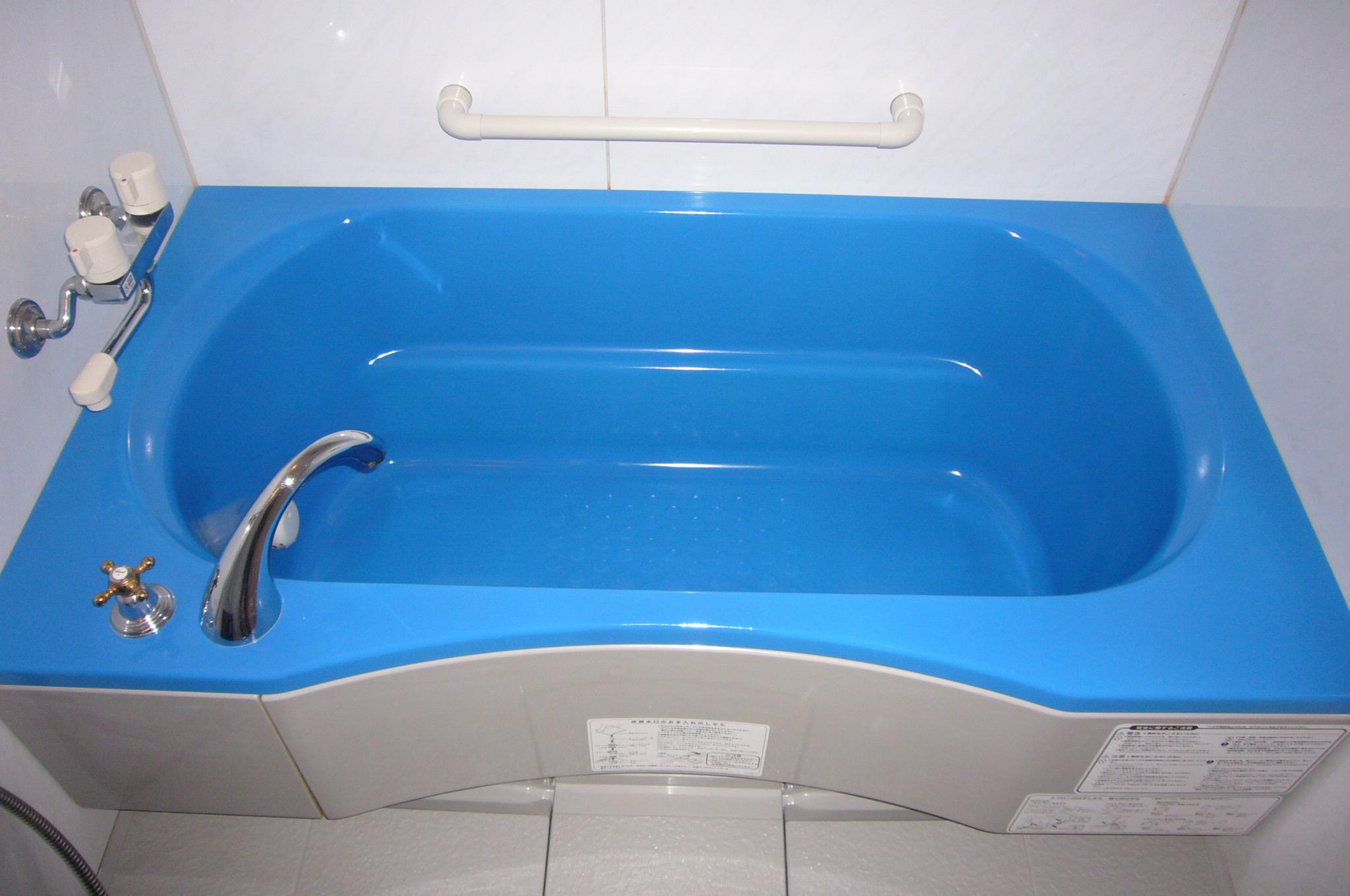チラシ浴槽施工後